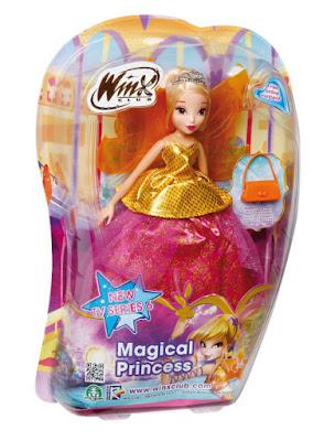 TOYS : JUGUETES - WINX Club  Magical Princess - Stella | Muñeca | Princesa Mágica  Producto Oficial TV Series 6 | Giochi Preziosi | Comprar en Amazon