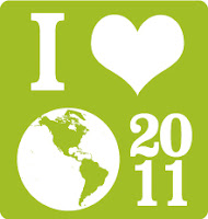 I love Earth Day 2011 graphic