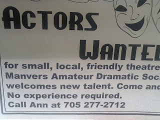 image Manvers Amateur Dramatic Society poster