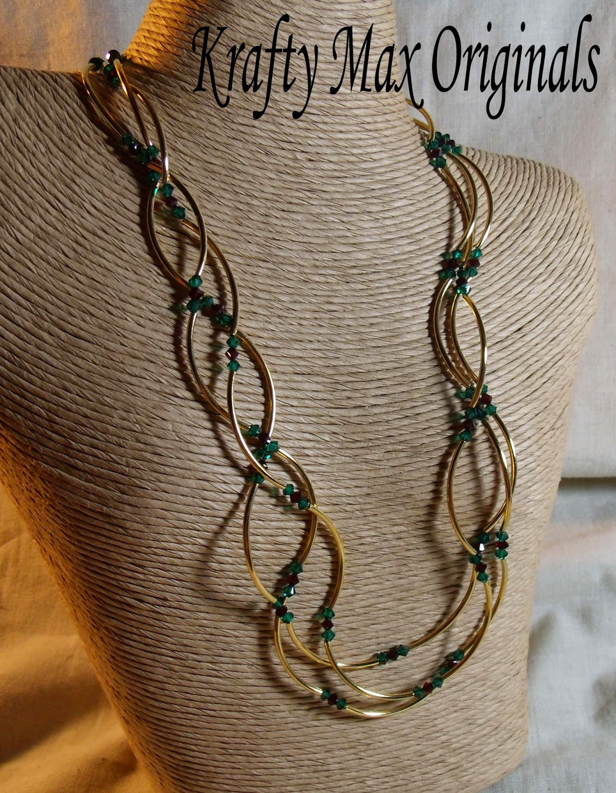 http://www.artfire.com/ext/shop/product_view/KraftyMax/3951426/Triple_Strand_Christmas_and_Gold_Necklace_Set/Jewelry/Sets/Crystal#