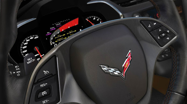 Chevrolet Corvette Stingray 2014 - interior - volante
