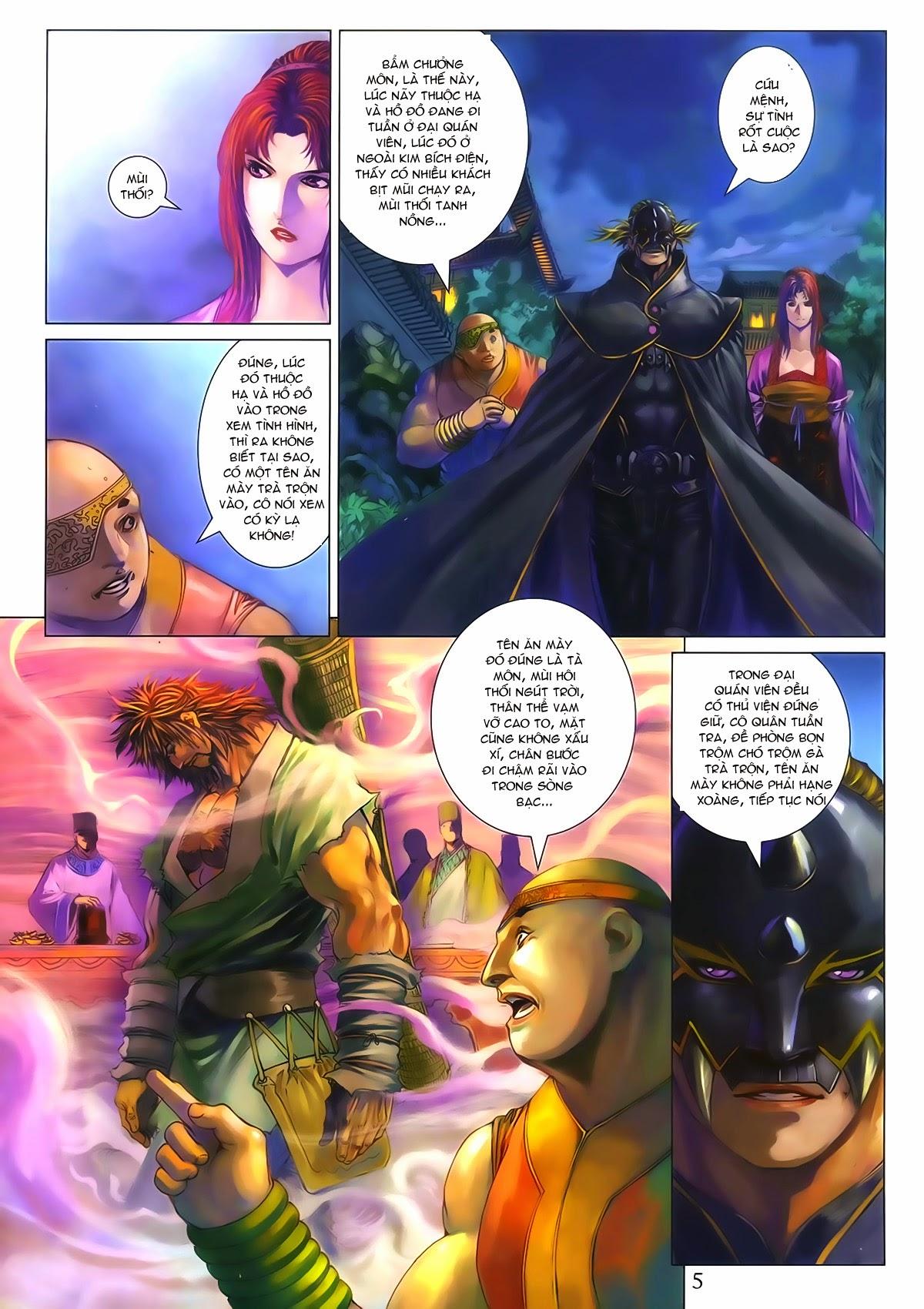 Tứ Đại Danh Bổ Chap 286 - Trang 5