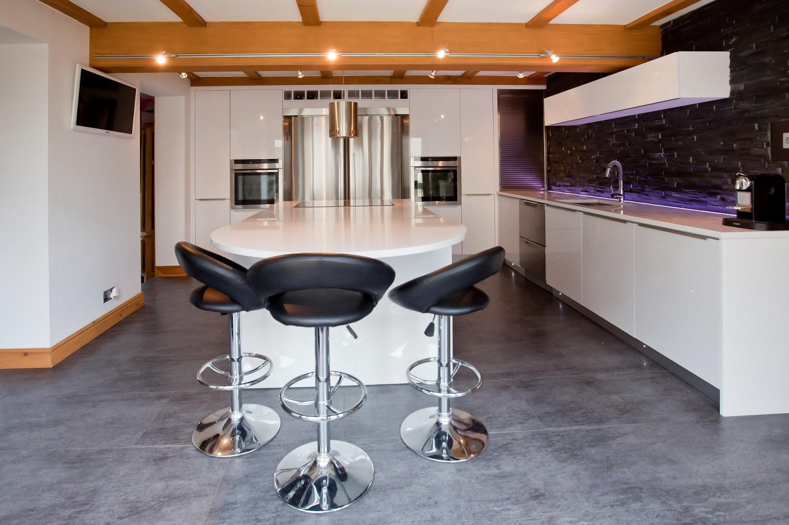 2014 Kitchen Ideas, Lisa Melvin Top Tips For Your Dream Kitchen High Gloss  White Kitchen