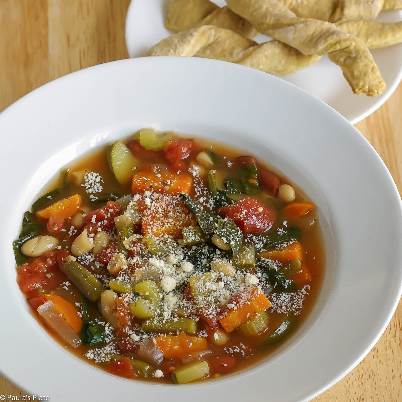 Slow Cooker Minestrone Soup – Paula\'s Plate