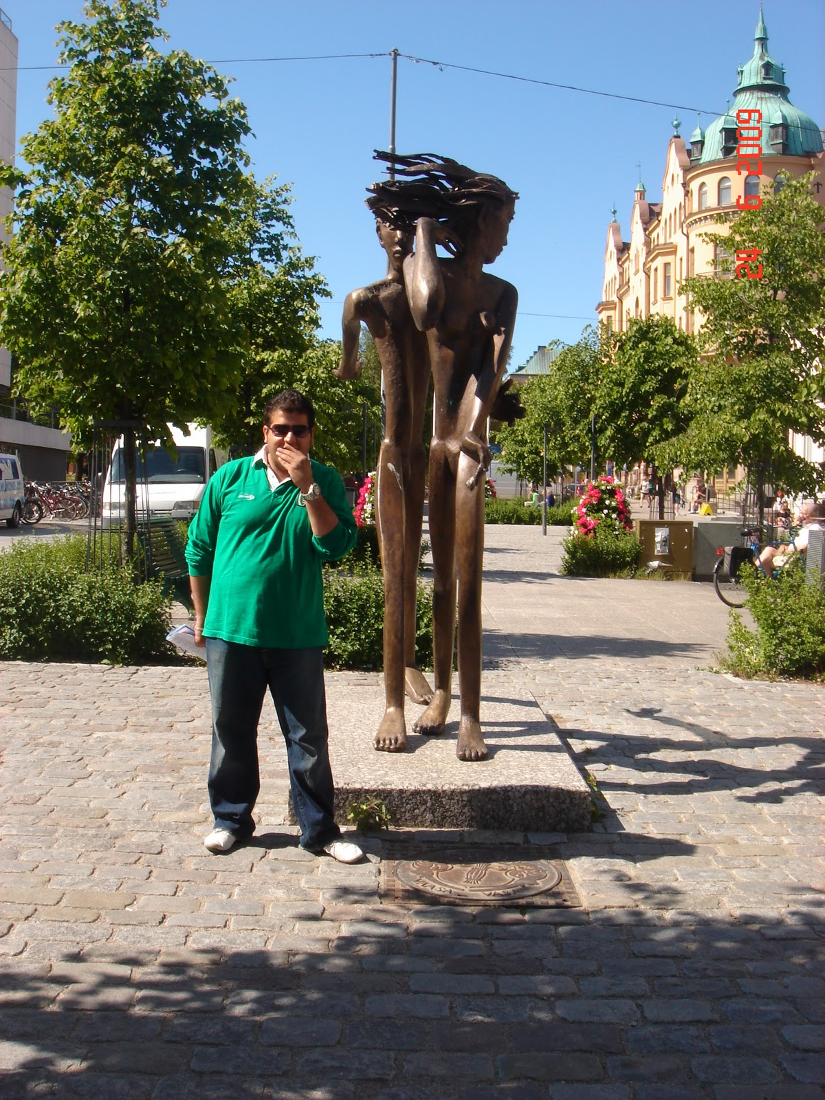 Sculptre In Vaasa,Finland