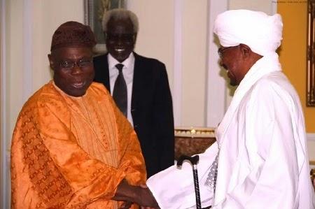 Obasanjo meet sudan President