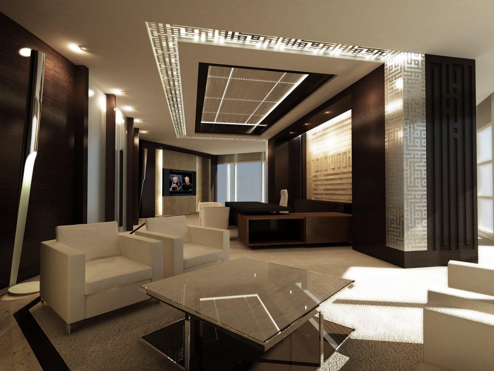 Office Interior Design Ideas: Tawazen Interior Design L.L.C: July 2011