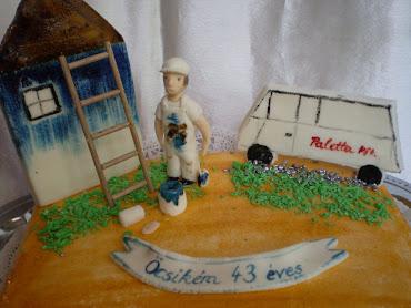 Festős torta