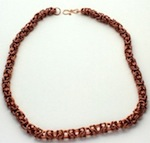 Copper Byzantine necklace