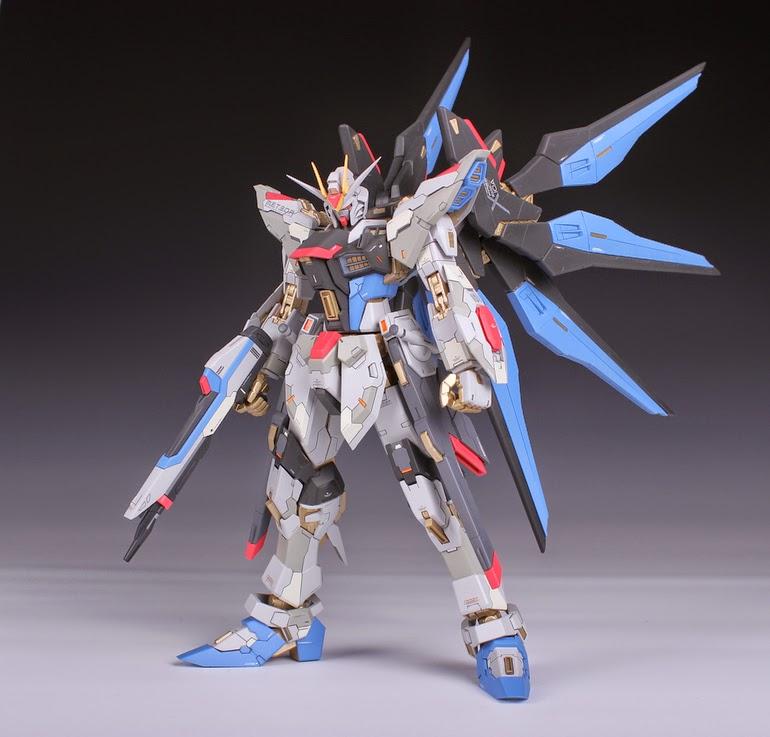 MG 1/100 Strike Freedom Gundam - Custom Build - Gundam ...
