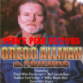 Gregg Allman & Friends -Penn's Peak, Jim Thorpe, PA