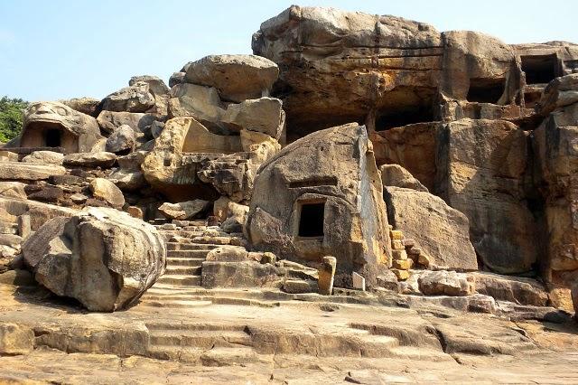 Udayagiri And Khandagiri Caves, Orissa