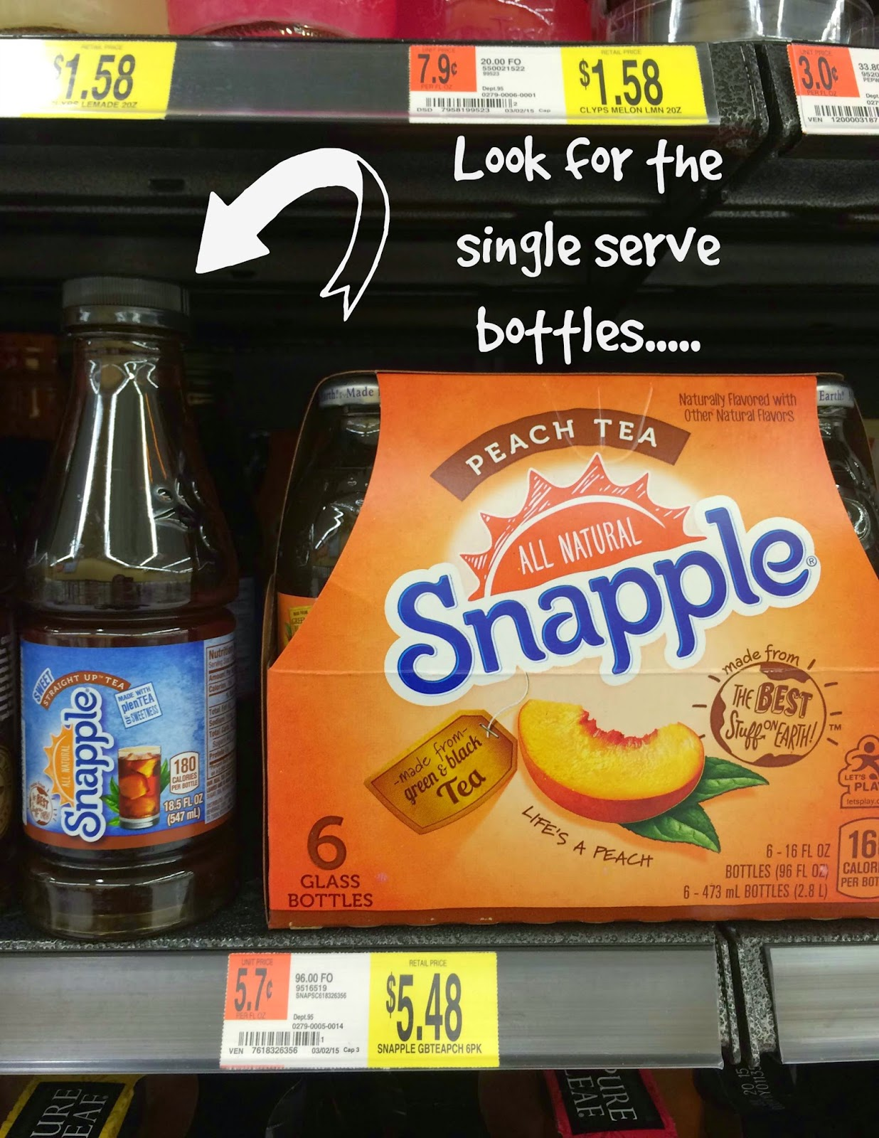 Snapple Straight Up Tea Best Stuff On Earth