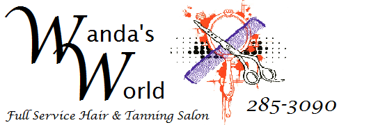 Wanda's World Full Service Hair & Tanning Salon plus massage, manicures, and pedicures