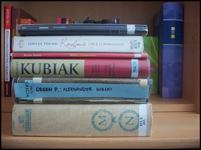 Sierpniowy Stosik – czyli książki, które się u mnie znalazły