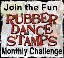 Rubber Dance Stamps Challenge