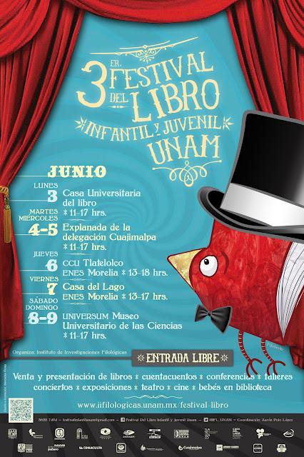 Tercer Festival del Libro Infantil y Juvenil de la UNAM