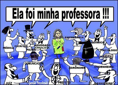 ELA FOI MINHA PROFESSORA