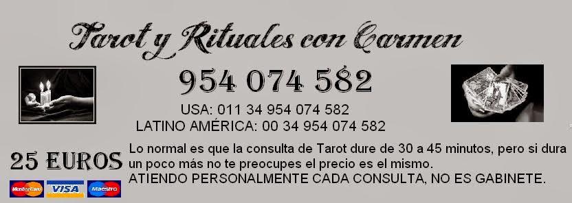 Rituales Gratis con Carmen. 954 074 582