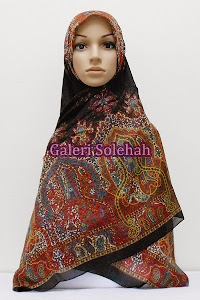 Tudung Miss Color Cotton Paisley Flora 60