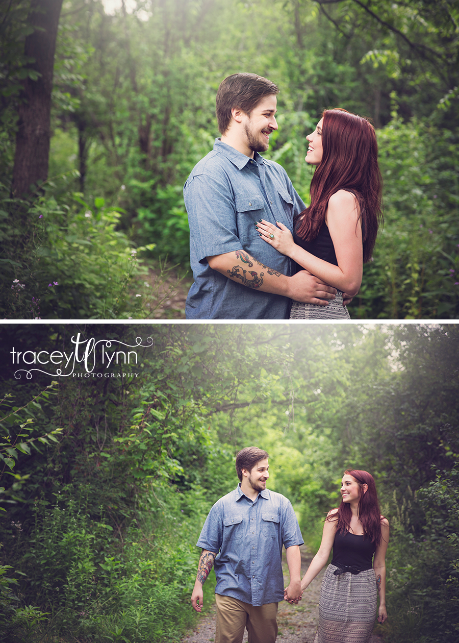 northville mi engagement pictures
