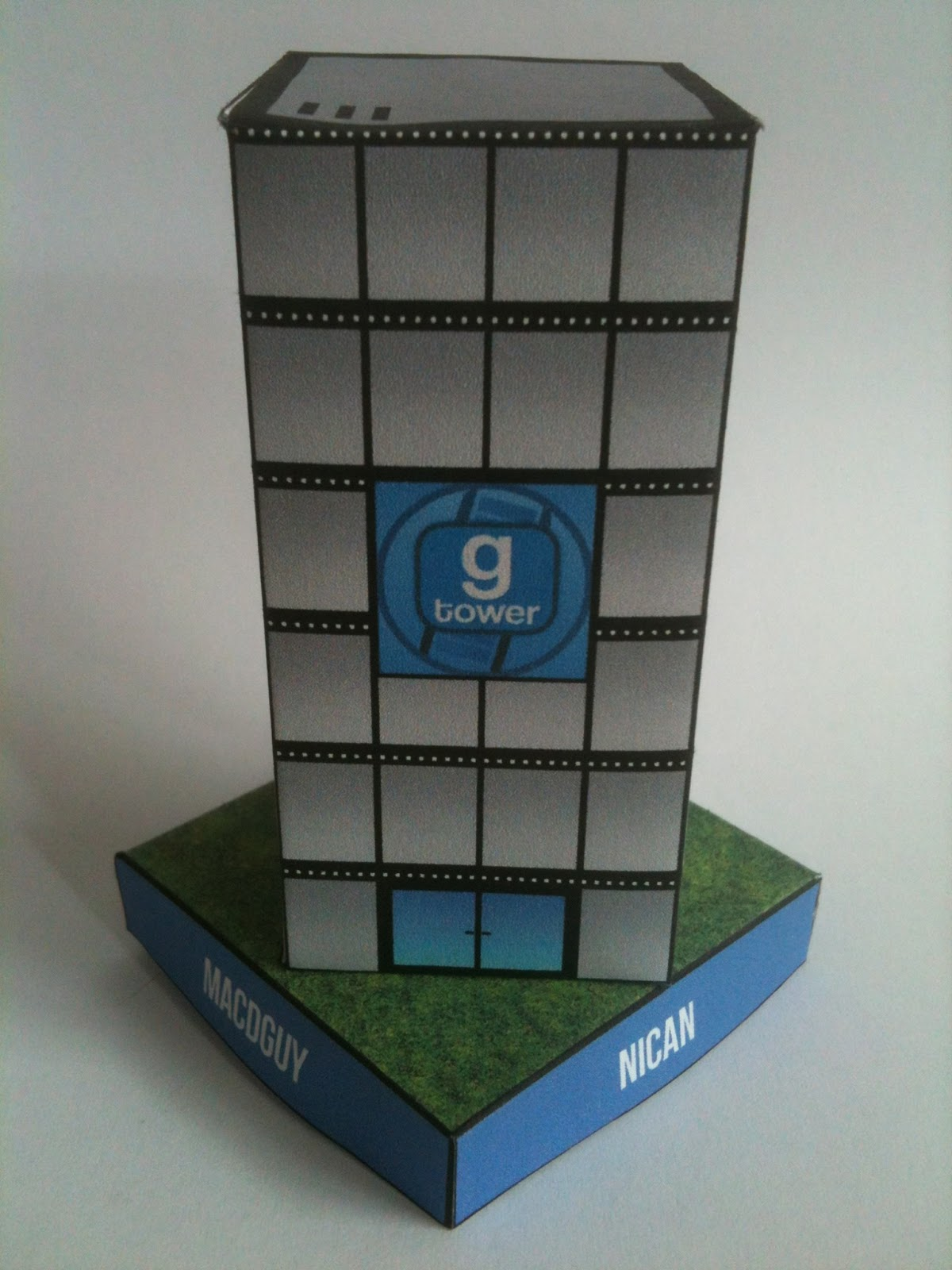GMod Tower Papercraft
