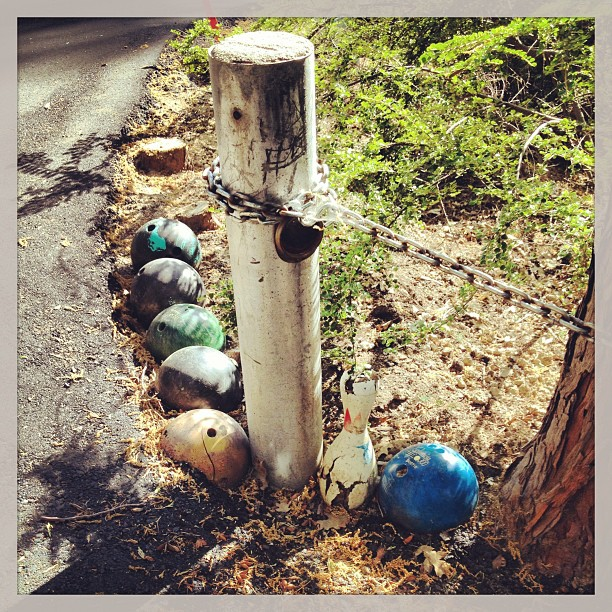 bowling ball graveyard