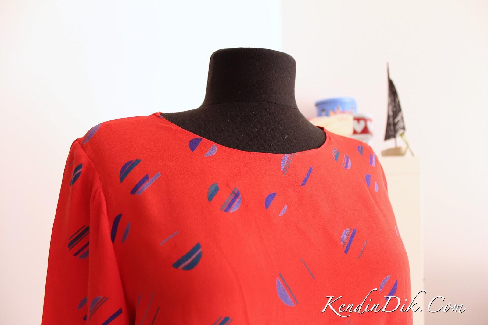bluz dikişi