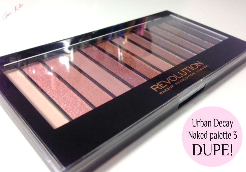 urban decay naked palette 3 dupe justjulie. Black Bedroom Furniture Sets. Home Design Ideas