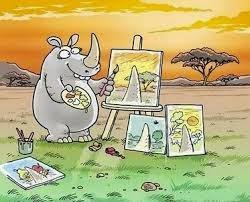 Rinoceronte Artista