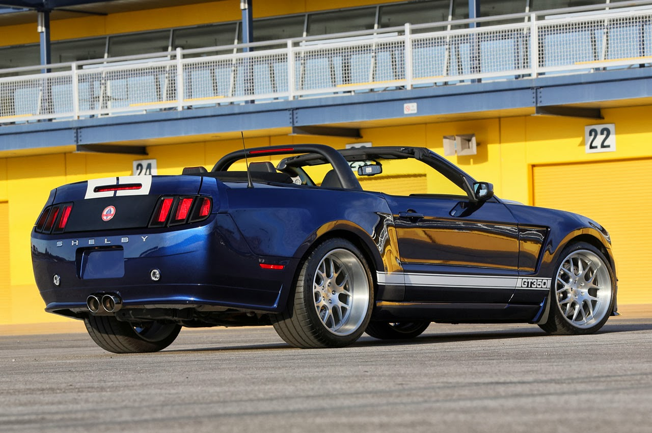 Shelby GT350 Convertible Widebody in Las Vegas.