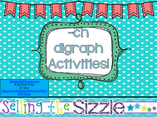 http://www.teacherspayteachers.com/Product/-ch-Digraph-Activities-1129134