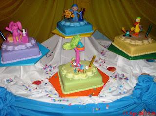 Tortas de Pocoyo