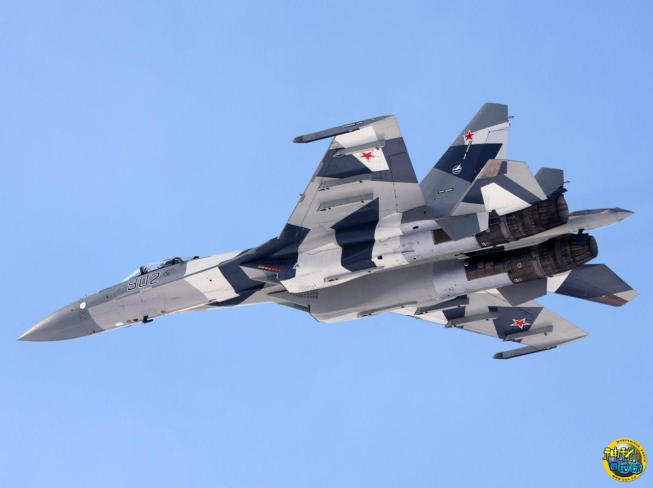 Fuerzas Armadas de la República Popular China - Página 2 Su-35+Russian+Fighter+Jet
