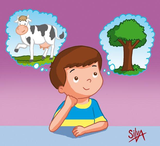 Niño pensando caricatura - Imagui