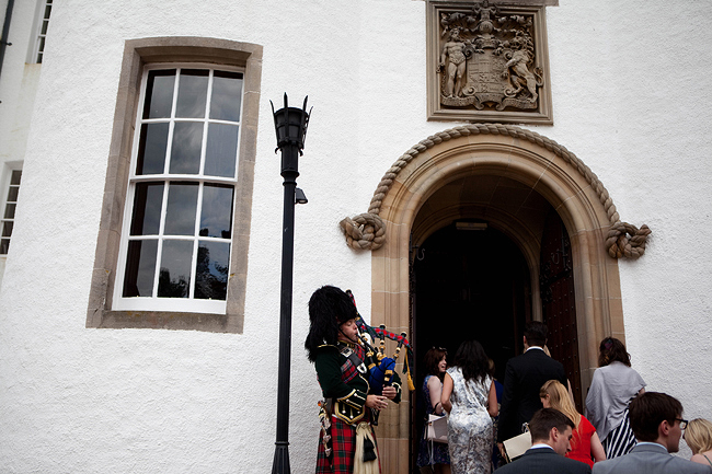 {Lillian and Leonard Wedding Photography} Blair Castle and piper