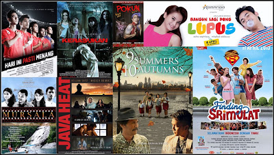 Rekapitulasi Film Indonesia di Bulan April 2013