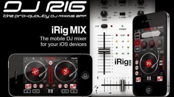 Conviertete en un Dj con DJ Rig FREE desde tu iPhone