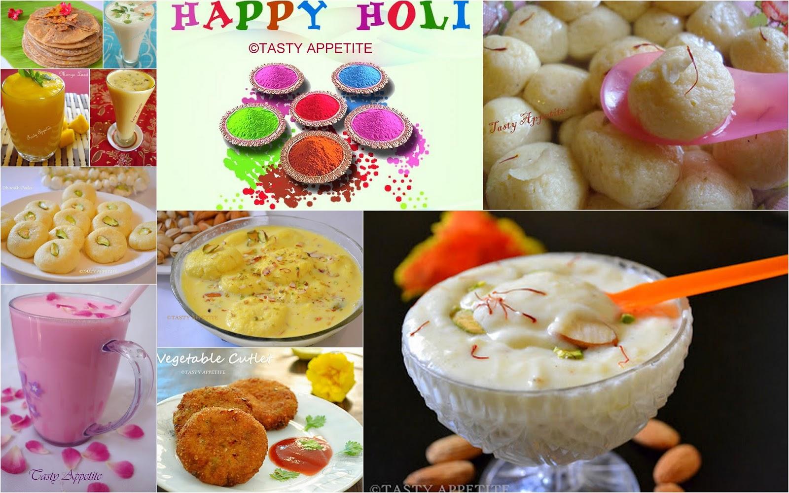 Holi Festival Food Recipes