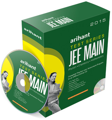 Arihant Test Series JEE Main – 2015 (CD) for Rs 888