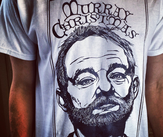 Murray Christmas Bill murray T-Shirt