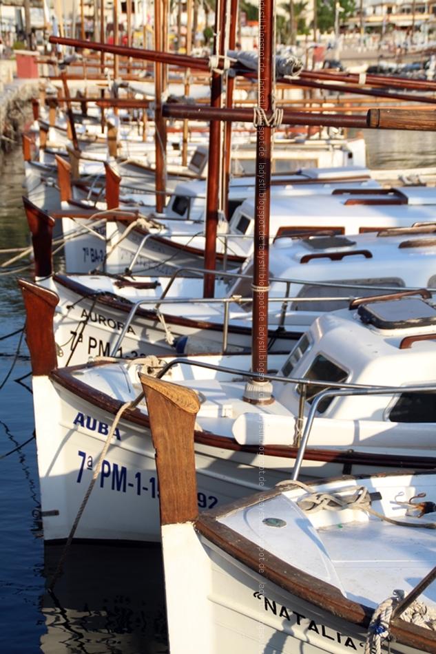 Hafen Port Sóller Boote