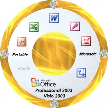 hello friends i am here with the old version of ms office 2003 with the latest form - Visio 2003 Portable