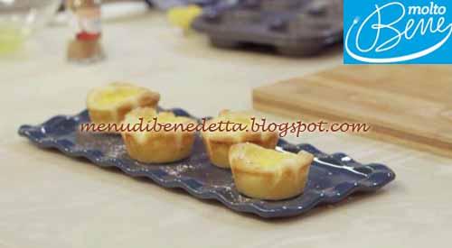 Pasteis de nata ricetta Parodi per Molto Bene su Real Time