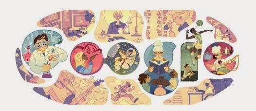 Doodle de Google Día Internacional de la Mujer