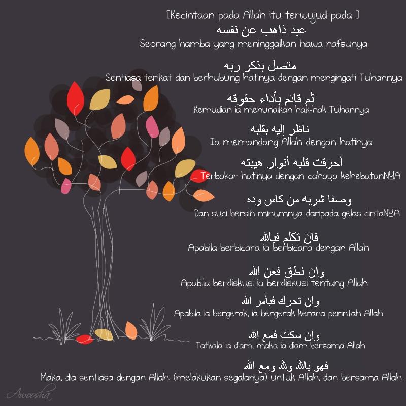 jadi ayuh katakan pada nafsumu : O Nafs, i love you but i lo ...