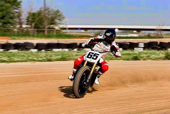 Vance & Hines Dirt Track Motorcycle for X-Games