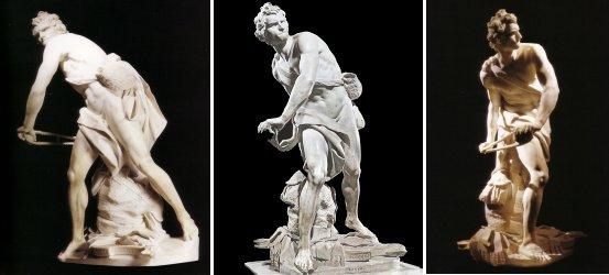 David, Michelangelo and Donatello