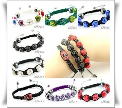 Wishboard Shamballa Bracelets Armbaender