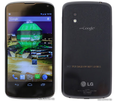 LG Nexus 4 Full Specifications and Details